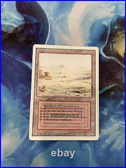 MTG Magic the Gathering English Badlands Dual Land 1994 Revised