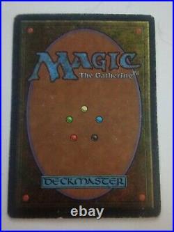 MTG Magic the Gathering English Underground Sea 1994 Revised 3rd Dual Land MP