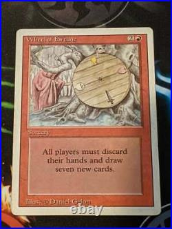 MTG Magic the Gathering Revised Wheel of Fortune 3ED Played Great Land Games