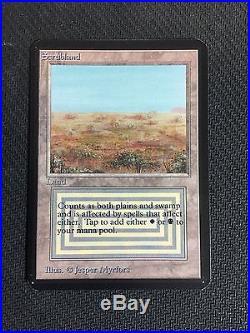 MTG Magic the Gathering Scrubland NM Alpha Dual Land Rare