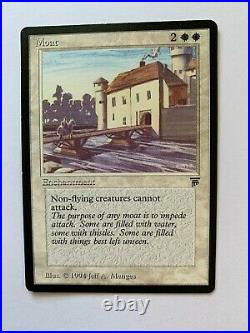 MTG Moat Legends English, Rare, EX
