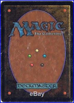 MTG Mox Jet Beta Magic The Gathering HP
