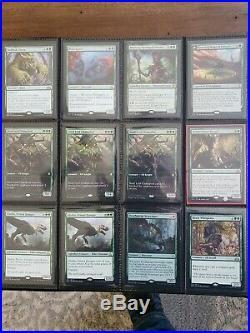 MTG Mythic and Rare Collection Binder Magic the Gathering Money Binder