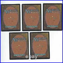 MTG PROMO Apac Lands Red Booster Set Plains Island Swamp Mountain Forest Magic