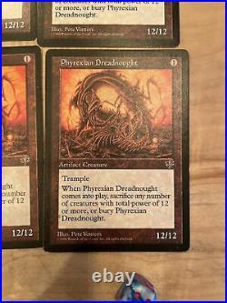 MTG Phyrexian Dreadnought Mirage Rare Play set X4