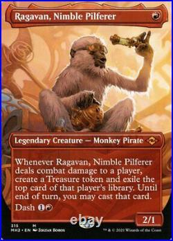 MTG Ragavan, Nimble Pilferer (Borderless) Mythic Rare Modern Horizons 2