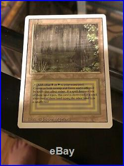 MTG Revised 1x NM Bayou Magic the Gathering Rare Vintage Dual Lands