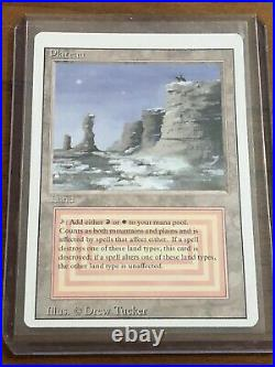 MTG-Revised-3rd Edition Dual land PLATEAU Magic The Gathering M/NM
