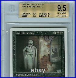 MTG Revised Royal Assassin BGS 9.5 Gem Mint Magic Card Anricons 0997