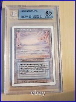 MTG Revised Underground Sea BGS 8.5 Dual Land Card Magic