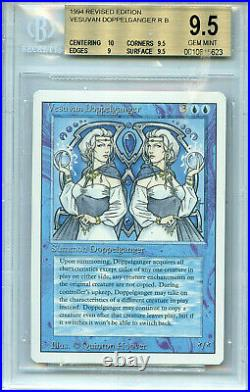 MTG Revised Vesuvan Doppleganger BGS 9.5 Gem Mint Card Magic Amricons 5623