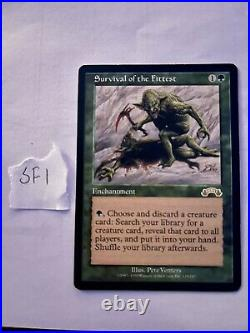MTG SURVIVAL OF THE FITTEST Exodus RESERVED LIST Rare NM