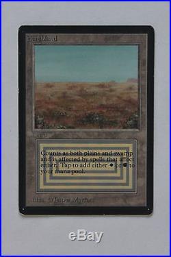 MTG Scrubland Beta rare dual land LP EX/NM