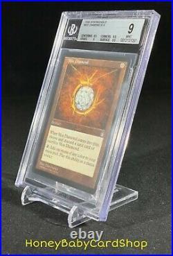 MTG Stronghold 1998 Mox Diamond BGS 9.0 Mint English STH Rare Iconic Staple