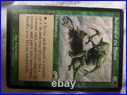 MTG -Survival of the Fittest Exodus EX Commander EDH Vintage LOOK