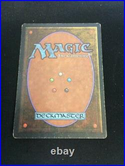 MTG The Abyss (Legends) Rare Good English