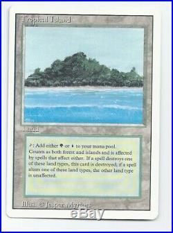 MTG Tropical Island Revised Dual Land NM/NM