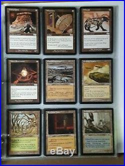 MTG URZA'S SAGA Rare Out of Print Complete 350 Card Set + Binder Gaea's Cradle