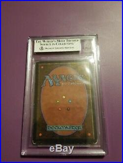 MTG Unlimited Mox Sapphire BGS Graded 5.5 Excellent