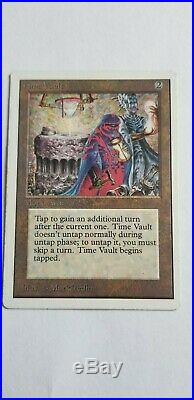 MTG Unlimited Time Vault Vintage 93-94 Magic the Gathering Light Play