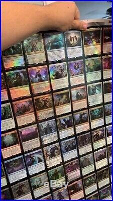 MTG War of the Spark Uncut Rare & Mythic Foil Sheet