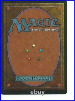 MTG Wheel of Fortune Revised Magic the Gathering Light play