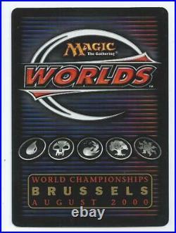 MTG World Championship Mark Tedin Mana Drain signed Original art
