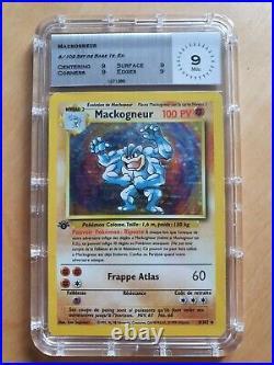 Mackogneur 8/102 Set de base 1ère édition Français MTG 9 PCA PSA MTG