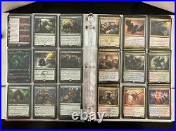 Magic Card Collection Deckmaster MTG Lot Binder, Boxes, Rares and More