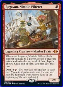 Magic MTG Ragavan, Nimble Pilferer Modern Horizons 2 NM 138/303 Monkey Pirate