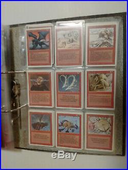Magic MTG Revised Edition set inc 1 Rare, 2 Uncommon & 4 Common