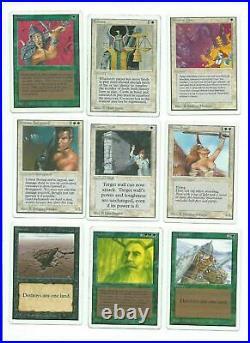 Magic MTG Unlimited Lot 89 Cards Rares Vintage Gathering www MoxBeta com