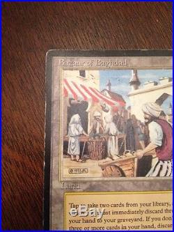 Magic The Gathering Bazaar Of Baghdad Arabian Nights Rare See Pics