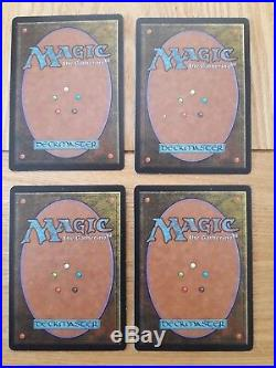 Magic The Gathering Cards Exodus City of Traitors x 4