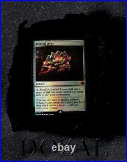 Magic The Gathering Commander Legends 2020 JEWELED LOTUS Foil MTG $ RARE $$$