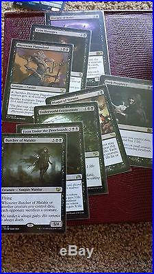 Magic The Gathering EDH/Commander PERSONAL Card Collection. Rares and Mythics