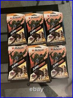 Magic The Gathering-JUMP/START 20-card Booster Pack Sealed Lot of 26