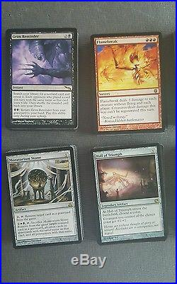 Magic The Gathering Lot Of 419 Rare mixed series +136 foil Common Uncommon
