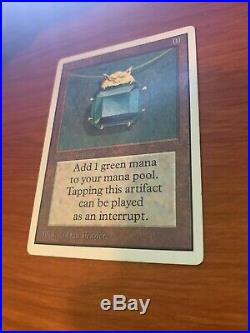 Magic The Gathering MOX EMERALD Unlimited MTG Power 9 vintage played
