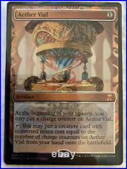 Magic The Gathering MTG Kaladesh Inventions Foil Aether Vial NM