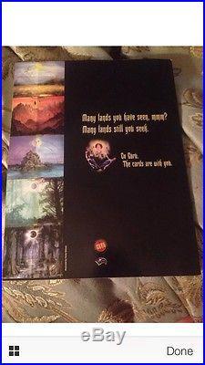 Magic The Gathering RARE Guru Land Judge Book With Original Promotional Cards