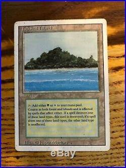 Magic The Gathering Tropical Island Revised Edition #288 Rare English Near Mint