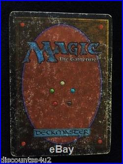 Magic The Gathering Unlimited Single Card Rare Mox Ruby Used