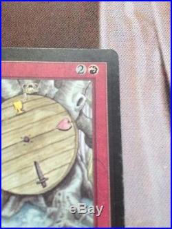 Magic The Gathering Wheel Of Fortune Beta Super Rare! Look