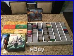 Magic The Gathering over 10,000 card Lot with Hundreds of Foil + Rares