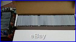 Magic the Gathering 4000+ Card Bulk Collection Rare/Mythic/foil C/UC foil land