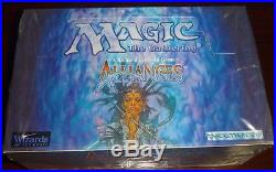 Magic the Gathering ALLIANCES Factory Sealed Booster Box MTG English 45ct packs