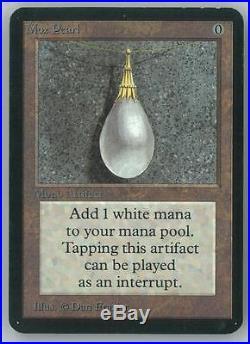Magic the Gathering Alpha Single Mox Pearl NEAR MINT MINUS (NM-)
