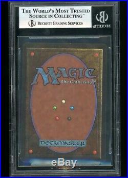 Magic the Gathering BGS 9 (9/9/8.5/9.5) MTG Beta Mox Jet MINT NM