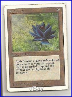 Magic the Gathering BLACK LOTUS UNLIMITED MP SCANS PRICED TO SELL